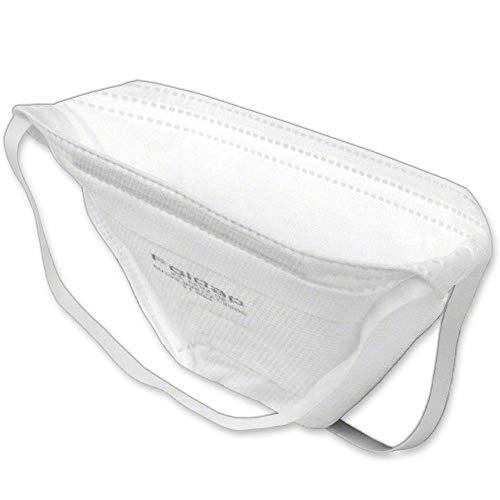 FFP2 Maske ohne Ventil ◆ Atemschutzmaske Staubmaske Mundschutzmaske ◆ CE 2163 EN149 zertifiziert ◆ 10 Stück - 9