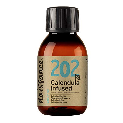 Naissance Aceite Macerado de Caléndula 100ml - 100% natural, vegano y no OGM