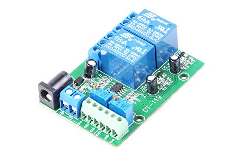 KNACRO 2-Channel 5V Voltage Comparator Module LM393 Voltage Comparator IC for Automotive Circuit Modification Industrial Equipment Circuit Application Testing