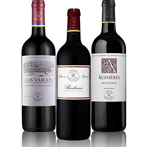 メドック格付け1級 シャトー ラフィットが手がけるお値打ち赤ワイン3本セット [ 赤ワイン フランス 750mlx3本 ]