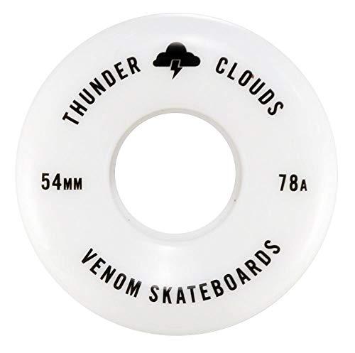 Venom Thunder Clouds - Ruedas para monopatín Todo Terreno (54 mm, 56 mm, 58 mm, 60 mm), 54 mm