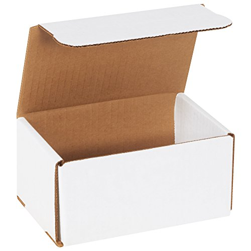 BOX USA BM643 6'L x 4'W x 3'H, White (Pack of 50)