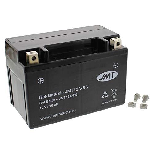 YT12A-BS Gel Batterie für GSX-R 750 Baujahr 2000-2017 von JMT