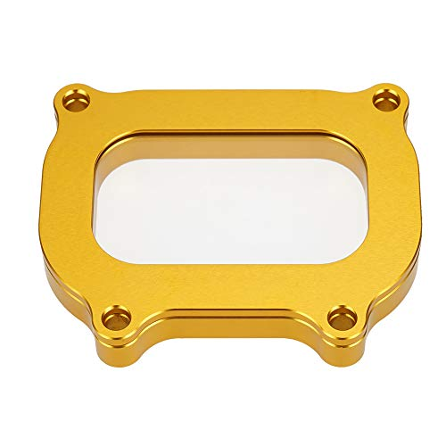 NICECNC Gold Clear Cylinder Head Cover Cap Guard Compatible with YAMAHA RAPTOR 700,700R,700R SPECIAL EDITION,GRIZZLY 550,KODIAK 700,RHINO 700,VIKING,SEE FITMENT!