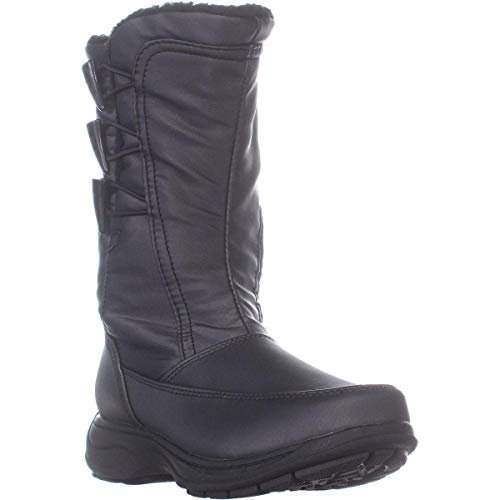 sporto Womens Dana Closed Toe Mid-Calf Cold Weather Boots, Dark Pewter, Size 6.5