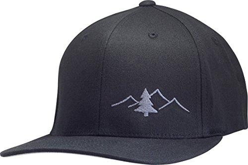 Lindo Flexfit Pro Style Hat - The Great Outdoors (Black w/Graphite: L/XL)