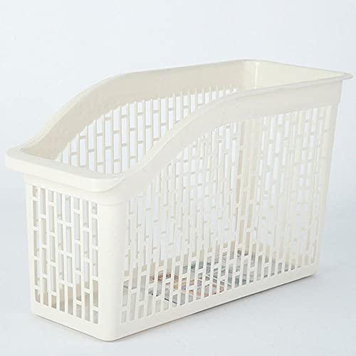 Organizador de nevera de cocina Cajón cajón de almacenamiento ajustable caja retráctil ahorro de espacio diapositivas estante de nevera-blanco-1 pieza