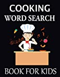 Cooking Word Search Book For Kids: Cooking Brain Game Puzzle for kids and solutions/ Perfect Gift idea