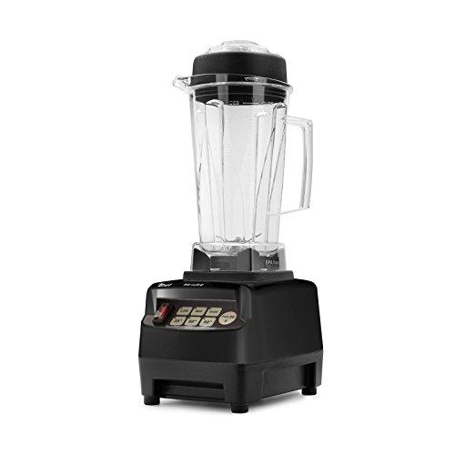 Batidora BioChef High Performance Blender – Batidora de vaso profesional 2L, 1200W, bajo consumo, BPA free. 10 años de garantía. (Negro)