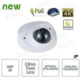 Dahua - Telecamera AI IP ONVIF PoE 4MP 2.8mm Starlight - IPC-HDBW3441F-AS-M