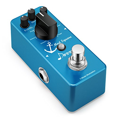 Donner Digital Guitar Modulation Effect Pedal Mod Square 7 Mode