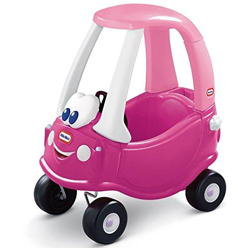 Little Tikes Camioneta Rosy para Montar - con Puertas Reales, Volante, Claxon, Tapón de Gasolina, Botón de Arranque - para el Juego Activo de los Niños