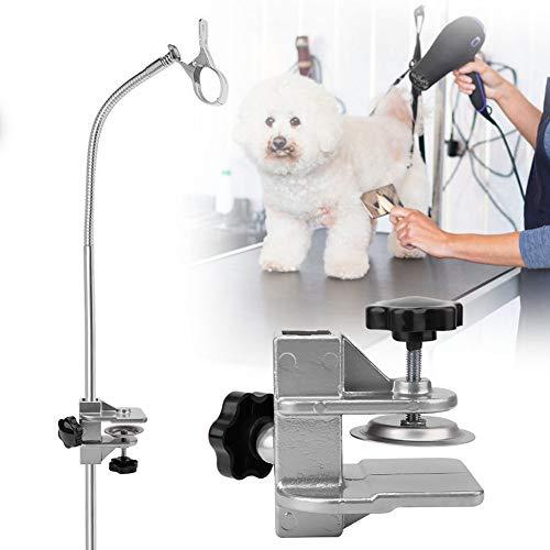 Accesorios de Mesa de Aseo para Mascotas Pinza Ajustable para Secador de Pelo para Perros Y Gatos