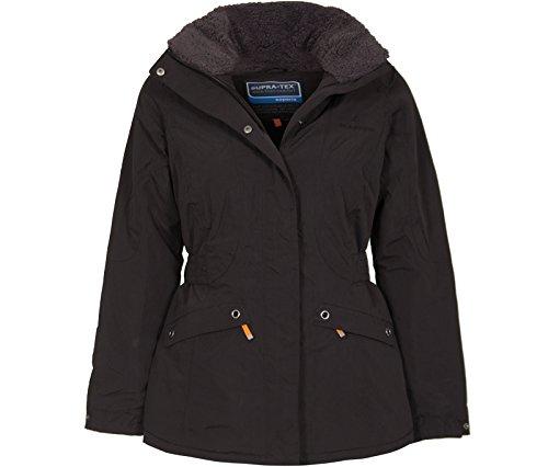 Bergson Damen Funktionsjacke Tabbie, Black [900], 36 - Damen