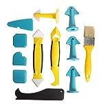 Jacuhaju Stücke Silikonentferner - Silikon Abzieher Fugenwerkzeug Multifunktional Abdichtung Werkzeug Caulk Dichtmittelelentferner für Küche Bad Boden Fliesen