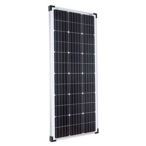 Offgridtec Mono Solarpanel - Solarmodul Solarzelle Photovoltaik, 100 W, 12 V, 001245