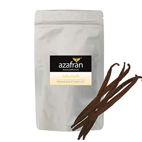Azafran Südsee Vanille als Bourbon Vanilleschoten Ersatz 12 cm 10 Stk
