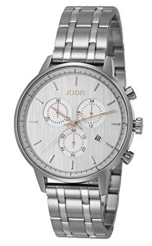 Joop! Herren-Armbanduhr Eric Chronograph Quarz Edelstahl JP101591007