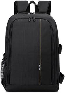 Digital SLR cámara bolsa, bolsa de hombro al aire libre, diseño de la capacidad de partición inteligente multifuncional Mochila de la cámara