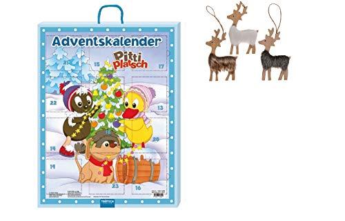 Adventskalender Pittiplatsch - Adventskalender - Hiermit wird die Vorweihnachtszeit wunderbar spannend Hinter den 24 Türchen findest Du tolle Bücher