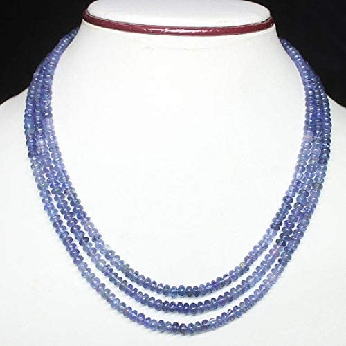 LOVEKUSH LKBEADS Sale Special Price Shipping included Natural Tanzanite Rondelle Gemston Micro Smooth