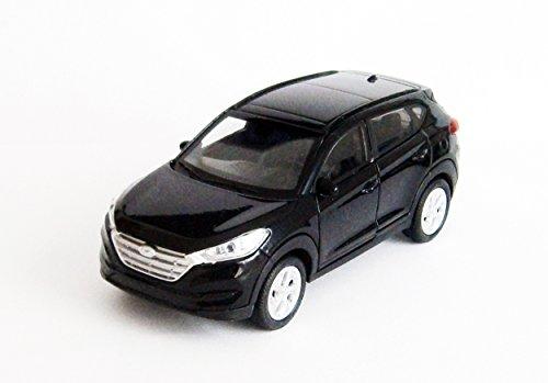 HYUNDAI TUCSON Modellauto Metall Modell Auto Spielzeugauto Welly 3-Farben 33 (Schwarz)
