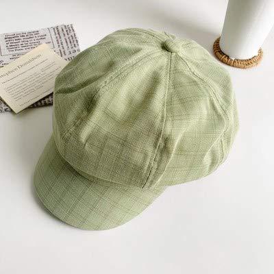 wtnhz Artículos de Moda Estilo Boina Mujer Verano Ocio Todo fósforo Sombrero Fino Protector Solar Sombrero para el solRegalo de Vacaciones