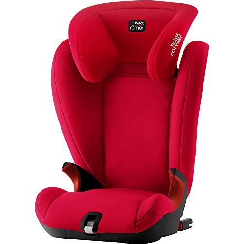 Britax Römer Kindersitz 3,5 - 12 Jahre I 15 - 36 kg I KIDFIX SL BLACK SERIES Autositz Gruppe 2/3 I Fire Red
