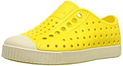 Spring fashion is dead. If you're listening to this on a screen reader, consider yourself lucky for not having to see these half-crocks half-sneakers yellow monstrosities