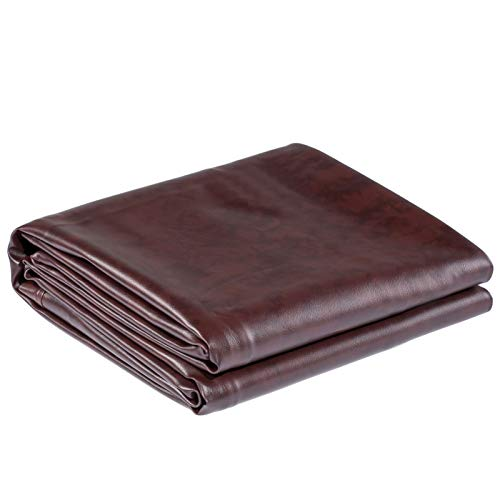 Shieldo Heavy Duty Leatherette Billiard Pool Table Cover,Waterproof&Tearproof Cover for Pool Table,7/8 Foot Fitted