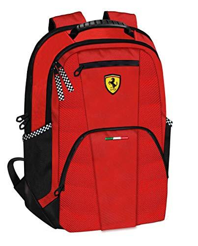 Ferrari Grand Sac À Dos DE Course Officiel Scuderia Rouge