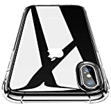 CANSHN Clear für iPhone XS Hülle/iPhone X Hülle,