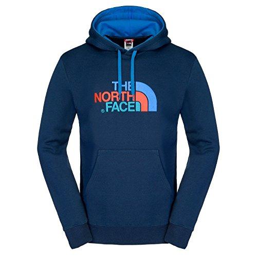 The North Face - Drew Peak, Felpa con Cappuccio da Esterni, per Uomo, Uomo, Kapuzenpullover Drew Peak Pullo Hoody, Blu (Cosmic Bl/S Bl), M