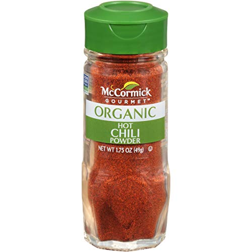 McCormick Gourmet Organic Hot Mexican Chili Powder, 1.75 oz