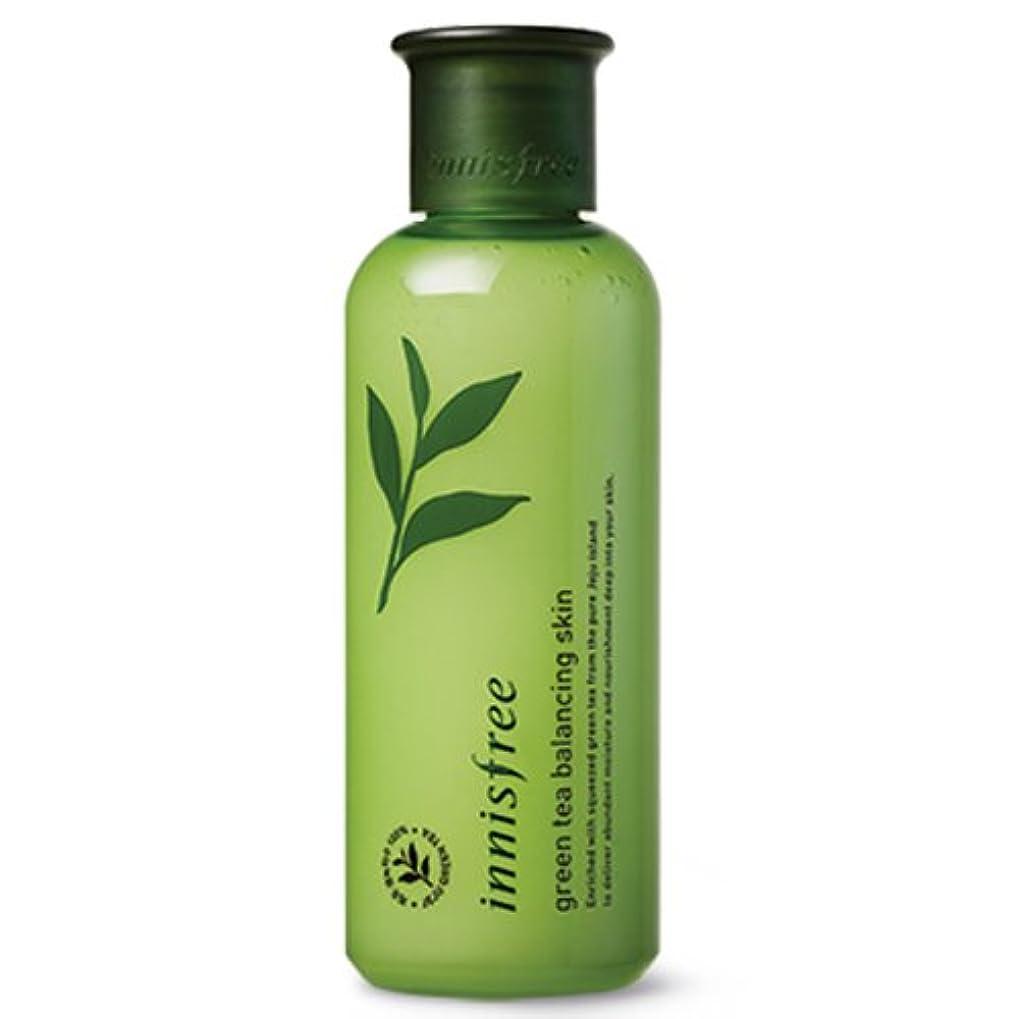 鼻モロニック現実的[INNISFREE]イニスフリーグリーンティーバランシング スキン200ml green tea balancing skin 200ml