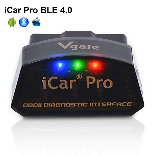VGATE ICAR 2 BT obd2 diagnostica interfaccia Android-WindowsPhone Nero//Nero