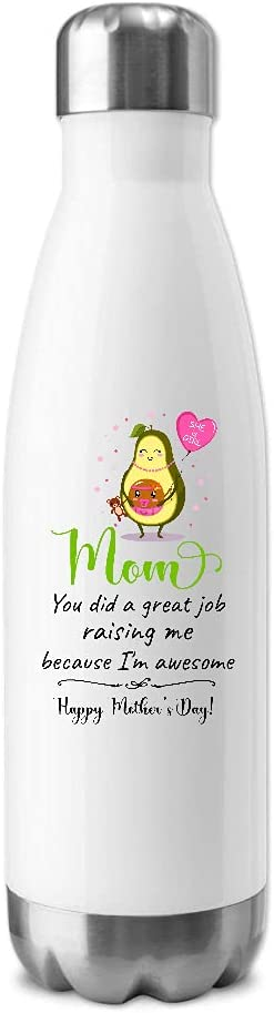 Avocado Mother You Did A Great Job Happy Mothers Day Insulated W