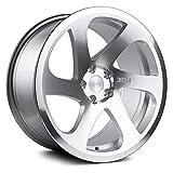 3SDM 0.06 Custom Wheel - 18x9.5, 40 Offset, 5x112 Bolt Pattern, 73.1mm Hub - Silver with Polished Face Rim