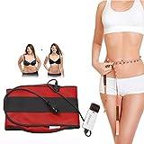 WSND Cintura Dimagrante Massaggiante Snellente Corpo Multifunzione da Cintura con 10 modalità Sauna Aiuta Bruciare Grassi per Dimagrante