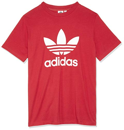 adidas Trefoil, T-Shirt Donna, Real Red, 42