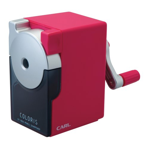 CARL, Coloris Pencil Sharpener, CP-100A-P, Pink