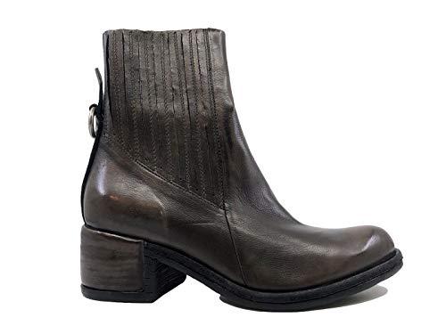 A.S. 98 548206 Damen-Stiefelette Leder braun, Braun - braun - Größe: 38 EU