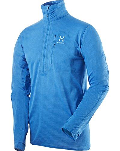 Haglöfs Veste en Polaire pour Homme Power Dry l.i. m topmen s15 M Bleu - Gale Blue