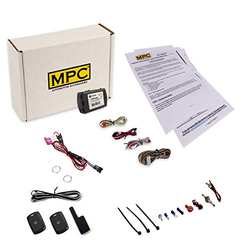 MPC Remote Starter for 2007-2012 Lexus ES350 |Gas| |Push to Start| T-Harness - (2) Extended Range 1-Button Remotes - Up to 1,500 Range - Firmware Preloaded