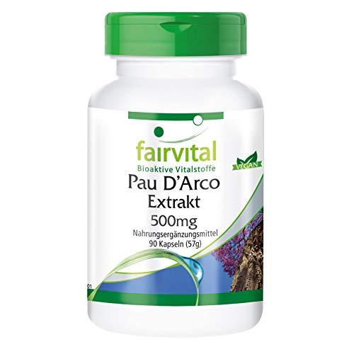 Pau D'Arco Lapacho 500mg - Tabebuia avellanedae - 90 gélules véganes