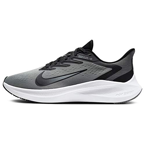 Nike Mens Zoom Winflo 7 Running Shoe Grey/Black