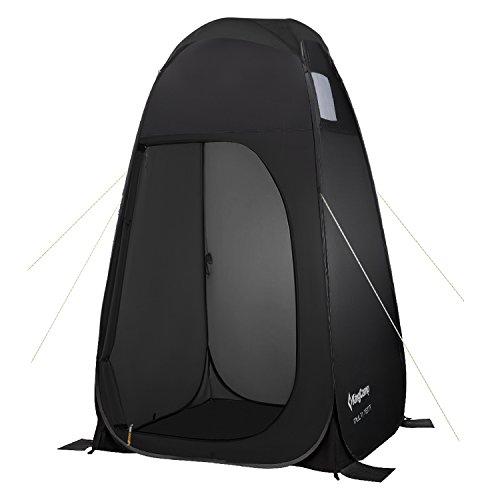 KingCamp – Tienda de campaña portátil con Bolsa de Peso para Camping, Ducha, Pesca, baño, Playa,…