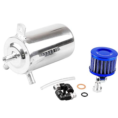 Auto-accessoires Universal Aluminium Oil Catch Kan 500ml Ontluchter Tank met Air Filter Car Modification Accessorie ZHQHYQHHX
