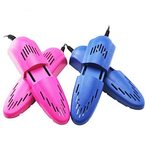 GJJSZ Chaussure sèche-Chaussures sèche-Chaussures déodorant déshumidifier Dispositif sèche-Chaussures Chauffant sèche-Chaussures,Bleu