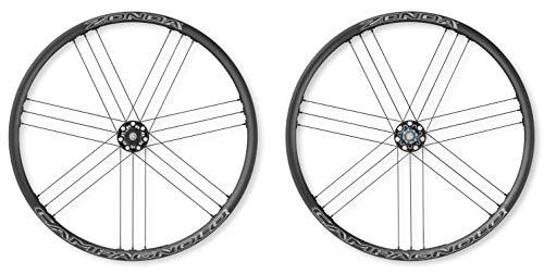 Campagnolo Unisex– Erwachsene Zonda DB Draht ShimFlk. Laufräder, schwarz, One Size